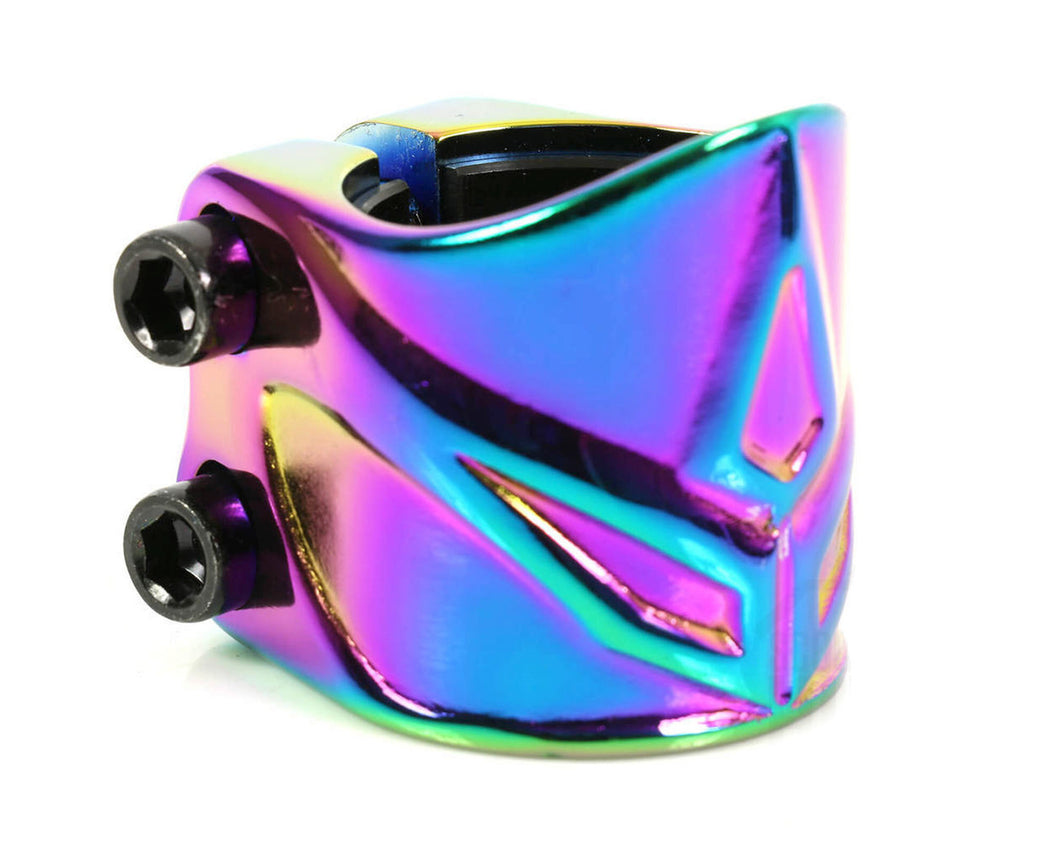 Blunt Forged 2 Bolt Scooter Clamp  - Oil Slick