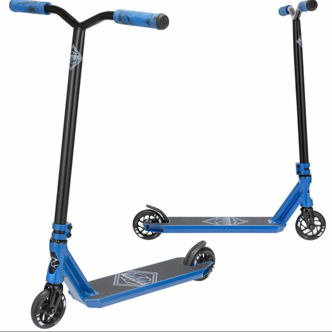 Fuzion Z300 Blue Complete Scooter