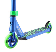 Load image into Gallery viewer, Sacrifice V2 Flyte 100 Complete Scooter Blue/Green