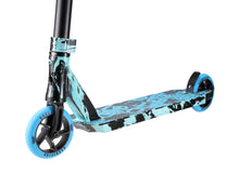 Load image into Gallery viewer, Sacrifice V2 Flyte 120 Complete Scooter Teal Black Splat