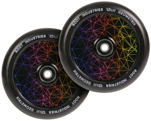 Root Ind. Air Scooter Wheels Pair Geometrix 110mm