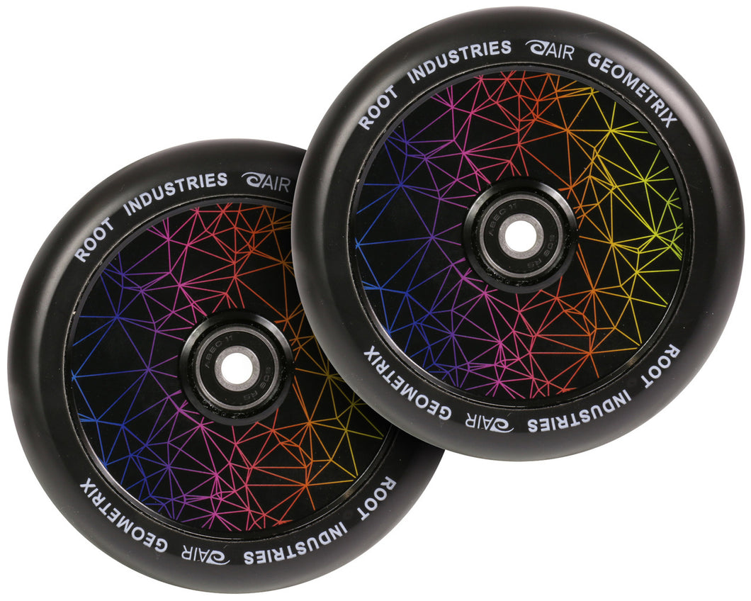 Root Ind. Air Scooter Wheels Pair Geometrix 120mm
