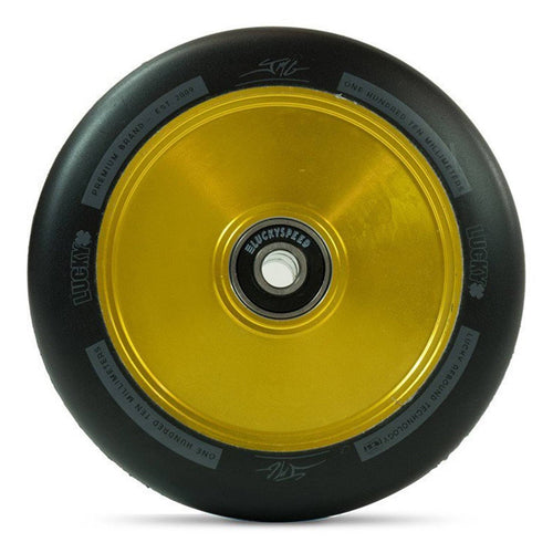 Lucky Lunar Hollow Core 110mm Scooter Wheel - Gold