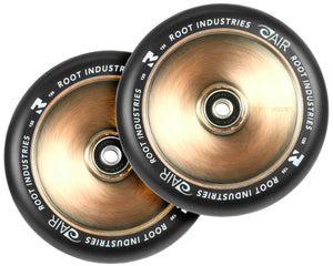 Root Ind. Air Scooter Wheels Pair Black/Coppertone 110mm
