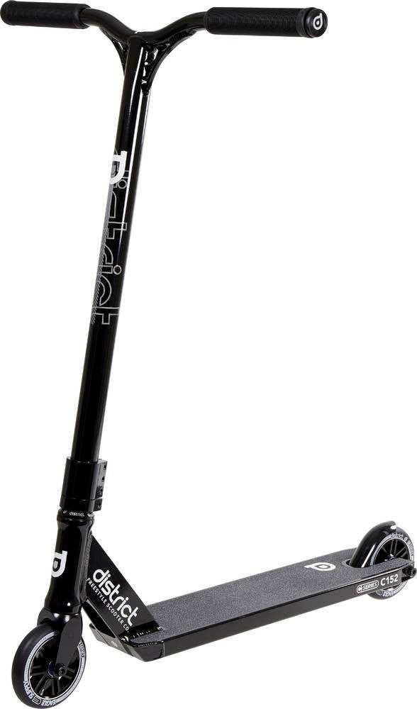 District C152 Scooter Black  Complete