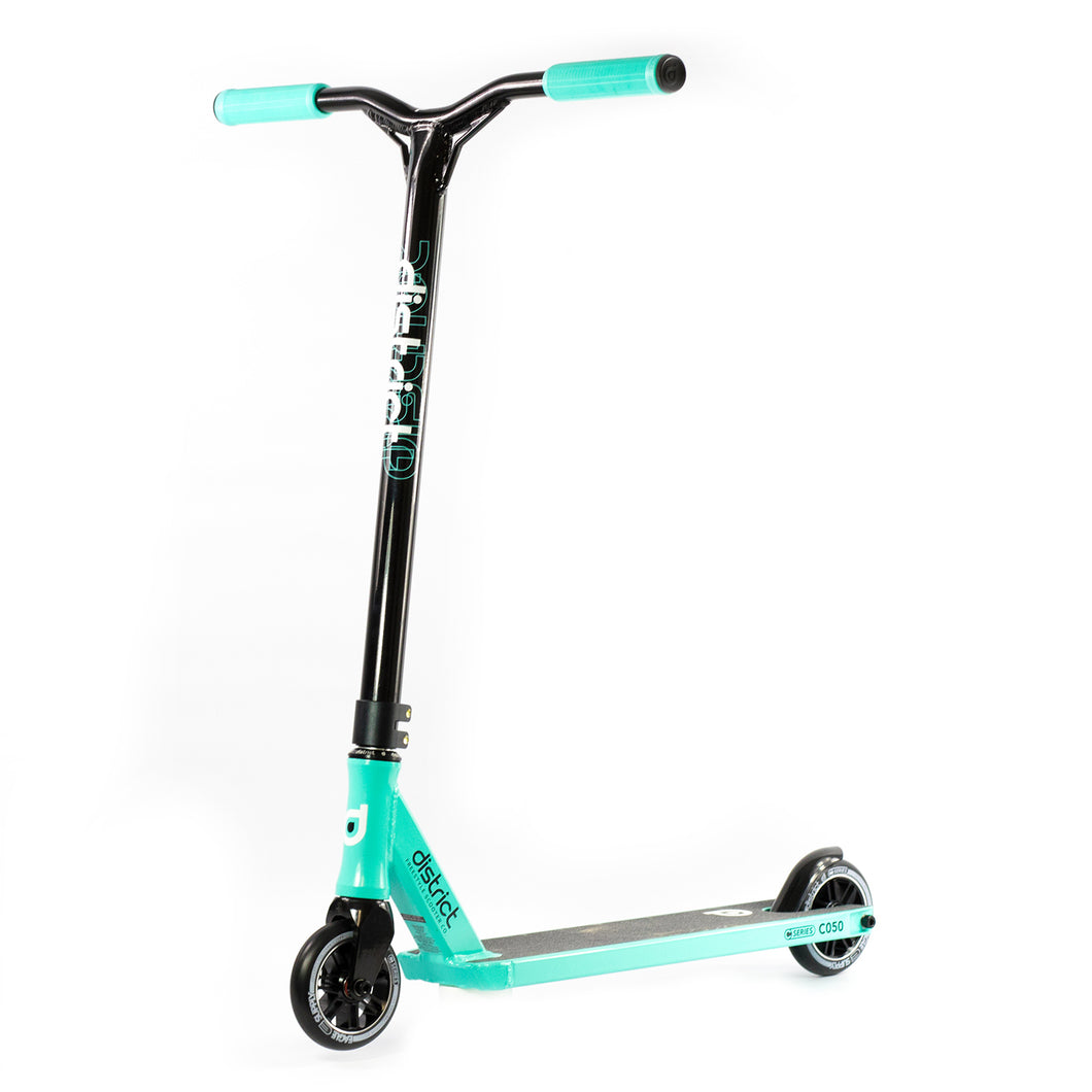 District C050 Stunt Scooter Complete Mint Black