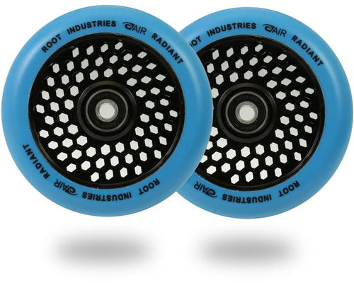 Root Ind. Honey Core Scooter Wheels Pair Black/Blue 110mm