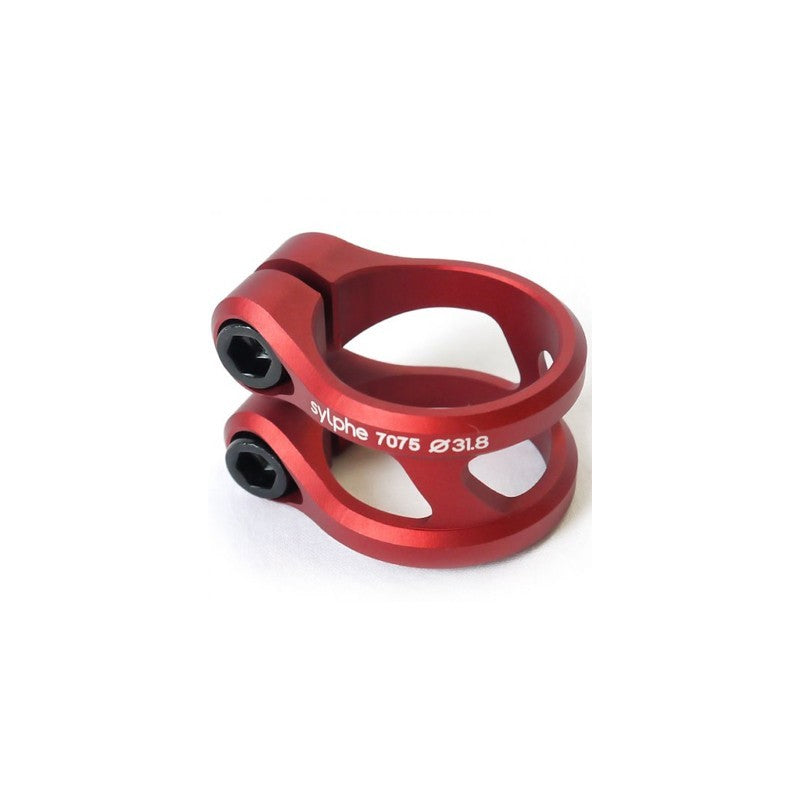 Ethic DTC Sylphe Red Double Clamp (31.8mm) HIC