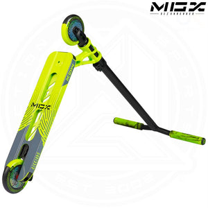 "MGP MGX S1 - SHREDDER 4.5"" - LIME/BLACK Complete Scooter"