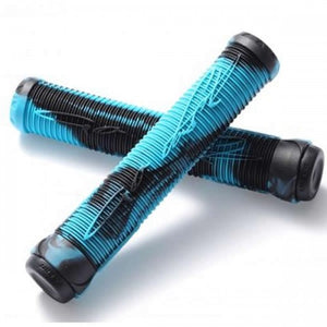 Fasen Fast Scooter Grips - Black / Teal