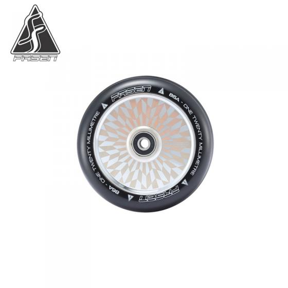 Fasen Hypno Offset 120mm Scooter Wheel - Chrome