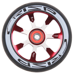 Crisp Hollowtech 110mm Wheel Red