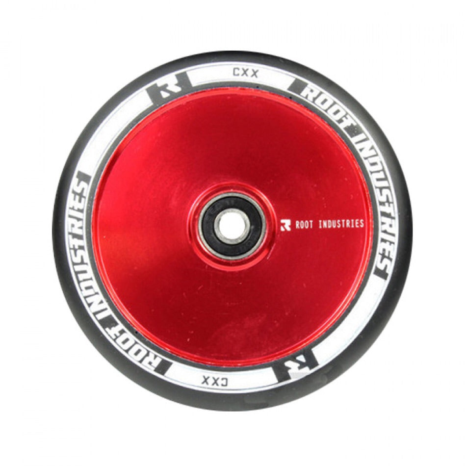 Root Ind. Air Scooter Wheels Pair Black/Red 120mm