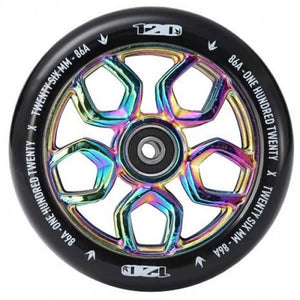 BLUNT LAMBO 120MM SCOOTER WHEEL NEOCHROME