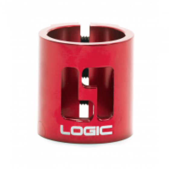 Logic 2 Bolt Clamp Red