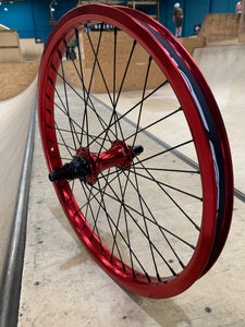 "Halo Priest MXR 20"" Rear Wheel RHD Red"