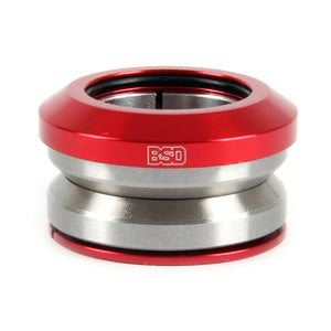 BSD Integrated Headset Red