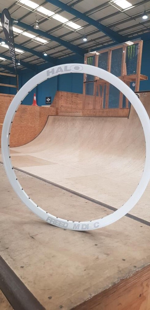 "Halo Freedom 26"" Rim White"