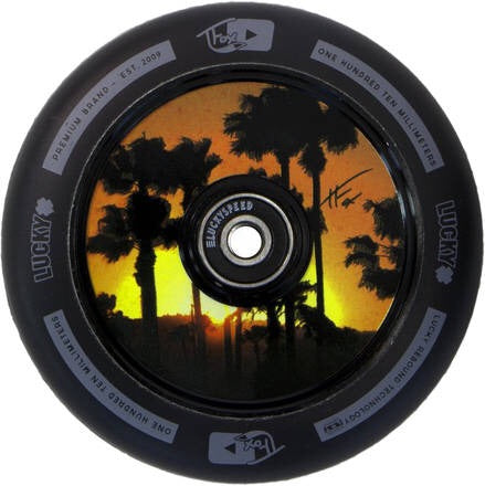 Lucky Tanner Fox Sig Hollow Core Scooter Wheel - Black - 110mm