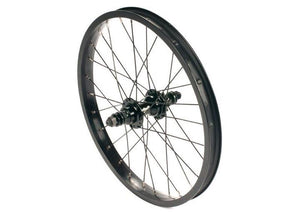 "United Supreme 18"" Rear Cassette Wheel Black"