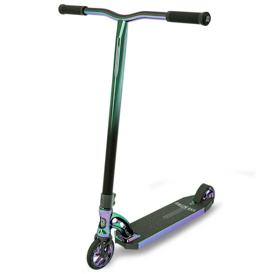 MGP VX8 Nitro Extreme Neochrome Complete Scooter