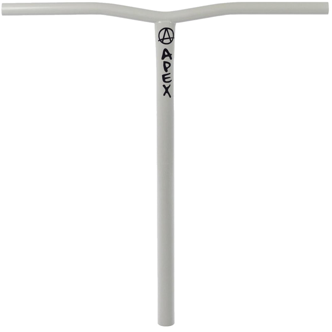 Apex Bol HIC Clear Grey Scooter Bars