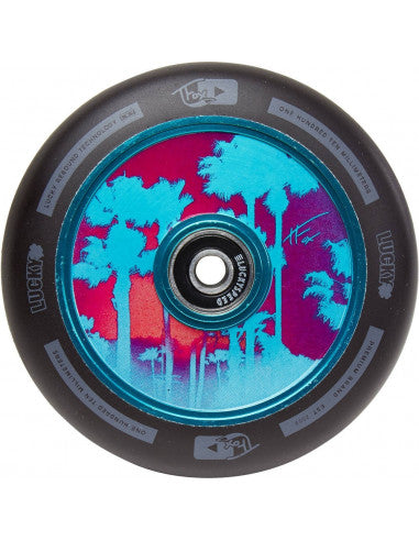 Lucky Tanner Fox Sig Hollow Core Scooter Wheel - Blue - 110mm