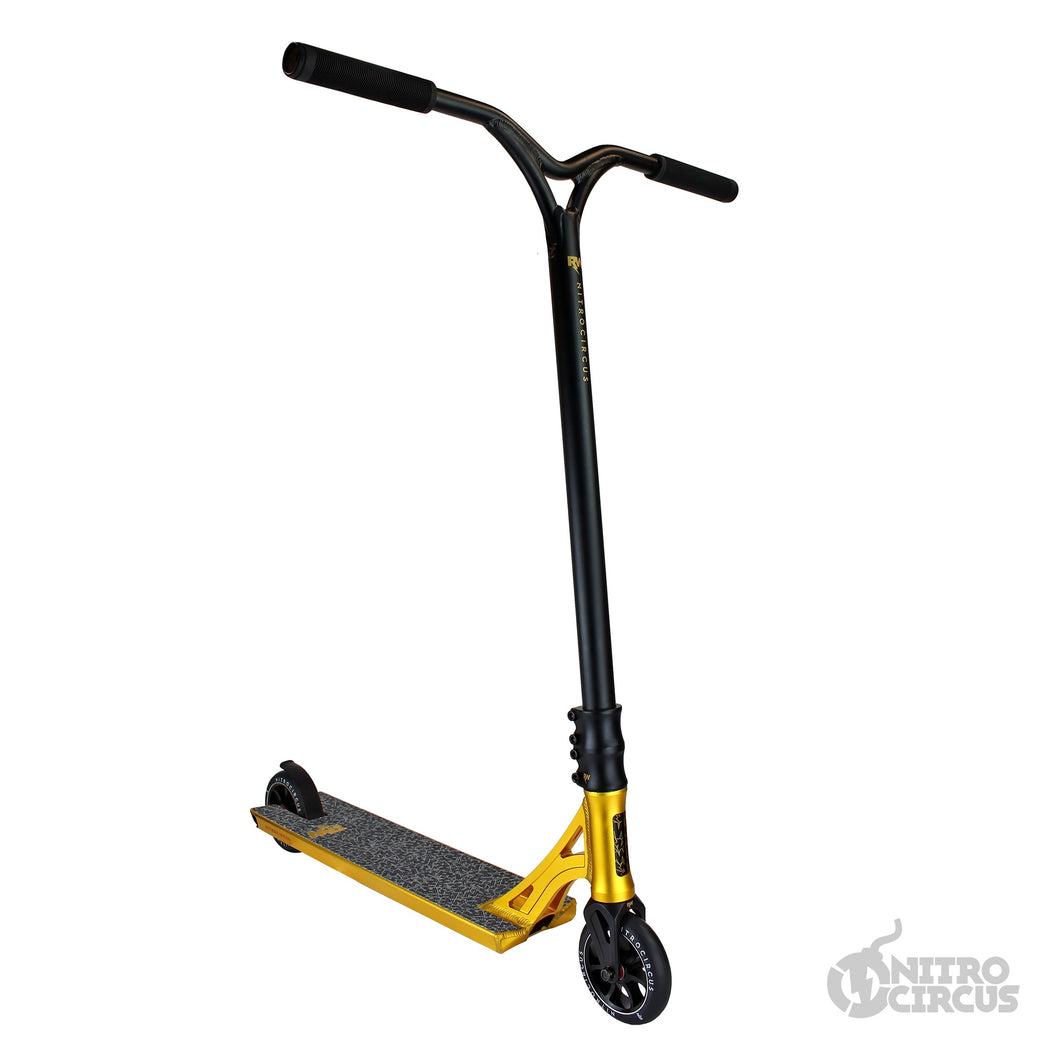Nitro Circus Ryan Williams Signature 540 Complete Scooter -Gold / Black