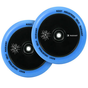 Root Ind. Air Scooter Wheels Pair Radiant/Blue 110mm