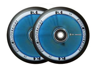 Root Ind. Air Scooter Wheels Pair Black/BluRay 110mm