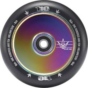 Blunt Envy 110mm Hollow Core Wheel - Oil Slick Neochrome