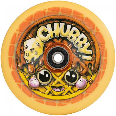 Chubby Wheels Scooter Wheel 110mm - Waffle