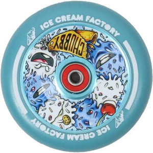 Chubby Wheels Scooter Wheel 110mm - Ice Cream