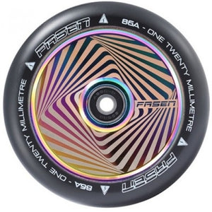 Fasen Hypno Square 120mm Scooter Wheel - Oil Slick Neochrome