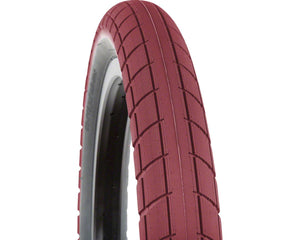 BSD Donnasqueak tyre, Dark Red 2.4""