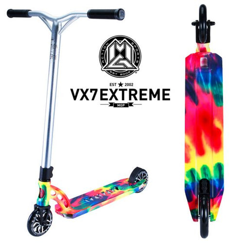 MGP Tie Dye VX 7 Extreme Scooter Complete