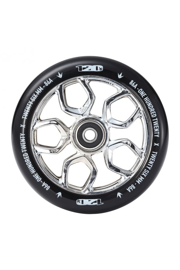 BLUNT LAMBO 120MM SCOOTER WHEEL CHROME
