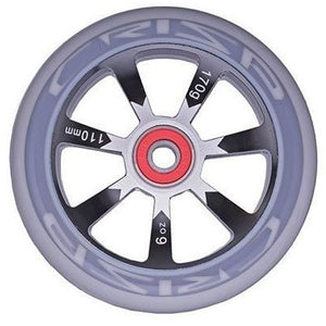 Crisp Hollowtech 110mm Scooter Wheel Pair- Black