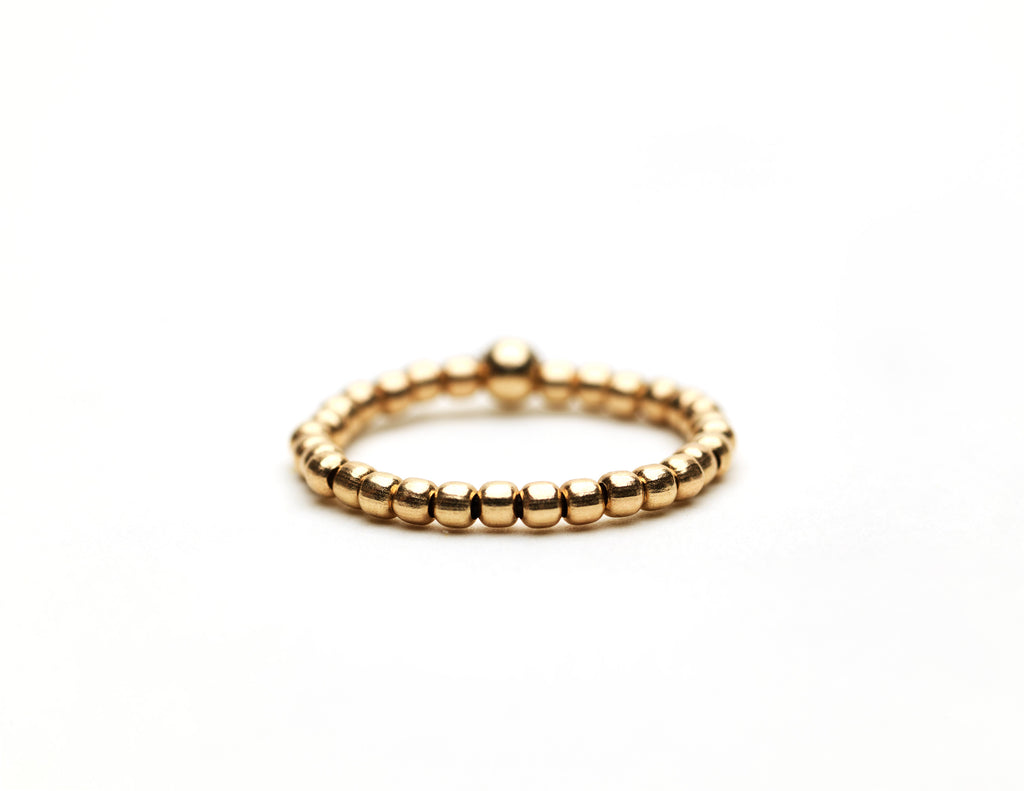 2mm Yellow Gold Ring