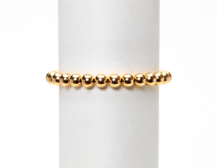 7mm Yellow Gold Bracelet