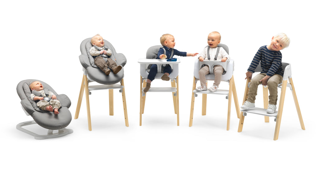 Steps High Chair Complete Set