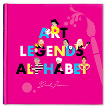Load image into Gallery viewer, Legends Alphabet Books