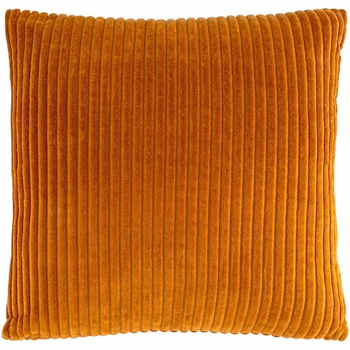 """Geant"" Ribbed Velvet Cushion"