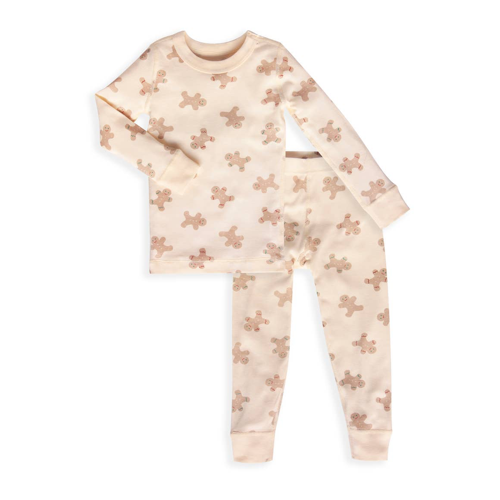 Long Sleeve 2 Piece Organic Cotton Pajama Set