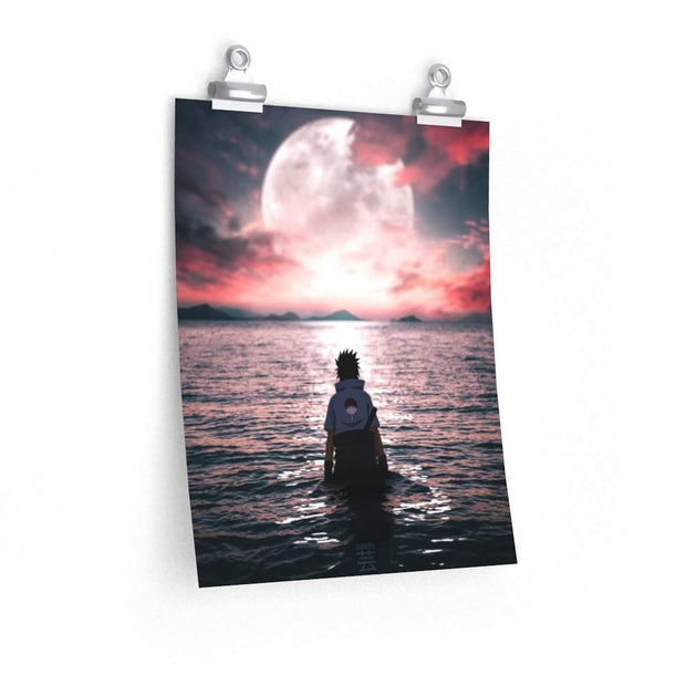 Moonlight Sasuke Poster
