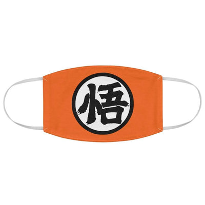 Goku Kanji Face Mask - Sugoi Nation