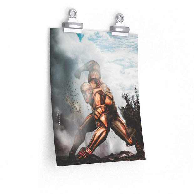 Armored Titan Poster