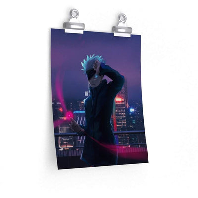 City Skyline Gojo Poster - Sugoi Nation