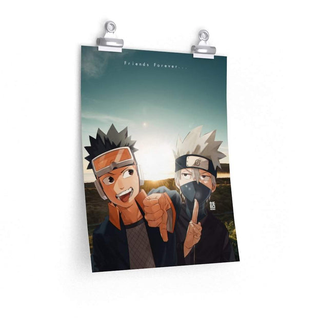 Kid Obito x Kakashi Poster - Sugoi Nation