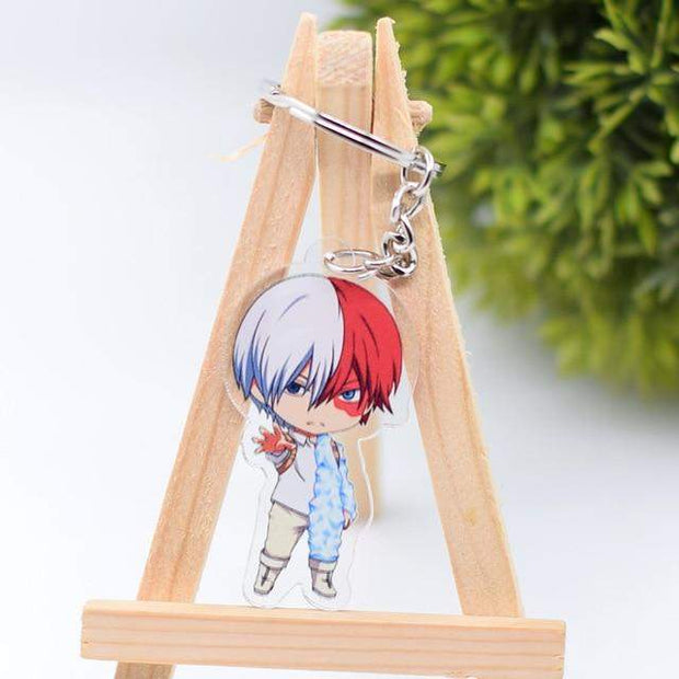 Shoto Todoroki Keychain - Sugoi Nation